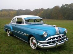 1952 Pontiac Chieftain...absolutely love the old window visors