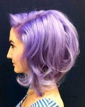 We have enlisted 30 Hair Color Ideas for 2014 and the upcoming year as well. I hope you will enjoy the different and modish hair color ideas! Doubles Chignons, Inverted Bob, Kelly Osbourne, Hair Colours 2014, Hair Colors, Short Curly Hair, Curly Hair Styles, Color Lila, Lavender Hair