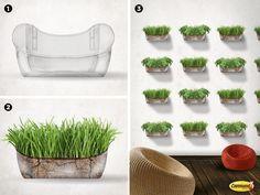 Mini jardín con Command®    Utiliza productos Command®para hacer un mini jardín en tu casa.