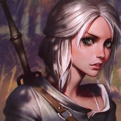 /~/ A warrioress. Alice? too petite and delicate-looking to be Ella or Ror. Who is this white-blonde warrior-goddess who eyes me with suspicion? I must discover who she is. /~/