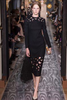 #Valentino #fashionweek #LBD #cutouts #style