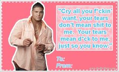 happy valentine's day from ronnie