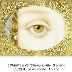 Copyright The Art of Mourning Although the craze for Lover's Eyes – and it was a craze, thanks to the Prince Regent, later King George . Lovers Eyes, Lovers Art, Eye Painting, Mourning Jewelry, Eye Jewelry, Jewlery, Human Eye, Hazel Eyes, Eye Art