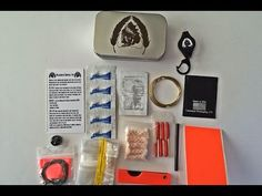LIMITED EDITION!! Black Scout Survival Kit - YouTube