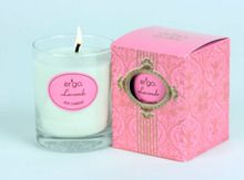 Ergo Soy Candle Paris Collection - 7oz Candle in Clear Glass- Lavande