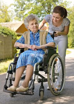 Going for a simple walk outside will give people in nursing homes a breath of fresh air.  Volunteering at a nursing home to take different people for walks outside is a very easy way to give back to your community.