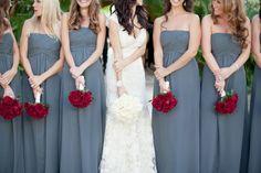 Brautjungfernkleider - miss solution Hochzeitsinspirationen #wedding #bridemaids #hochzeit