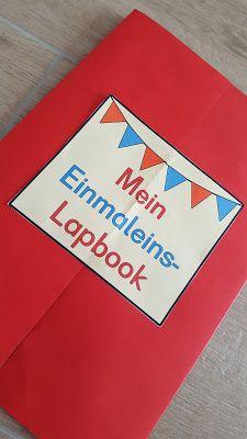 Grundschultante: Einmaleins-Lapbook