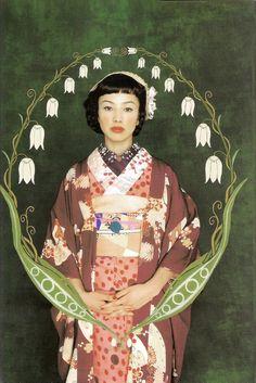 Kimono-hime issue 1. Fashion shoot page 6. ViaSatomi Grim of Flickr