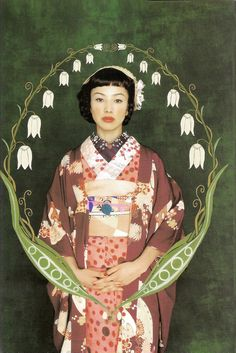 Kimono-hime issue 1. Fashion shoot page 6. Via Satomi Grim of Flickr