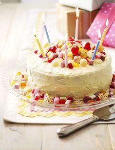 Sweetie birthday cake http://www.sainsburysmagazine.co.uk/recipes/baking/special-occasion-cakes/item/sweetie-birthday-cake