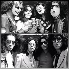 Remember Boy Howdy beer from Creem magazine from the Kiss Rock Bands, Kiss Band, Kiss Images, Kiss Pictures, Kiss Members, Vinnie Vincent, Eric Carr, Peter Criss, Kiss Photo