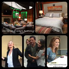 On The Set of Grey's Anatomy #ABCTVEvent