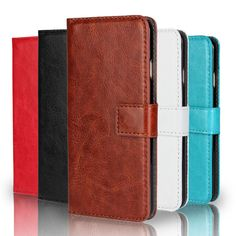 Luxury Retro PU Leather Case for Samsung Galaxy ACE3 ACE 3 III S7270 7270 S7272 7272 Flip Cover Wallet With Stand Phone Cases