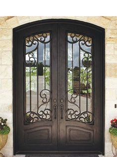 Durango Doors-Nixon8 & Durango Doors at this Masters Touch Custom Home | Doorways and ... pezcame.com