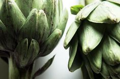 The summer equinox may still a ways off, but we're finally starting to see one of our favorite spring vegetables pop up: Hello, artichokes.