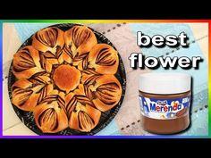 ΤΣΟΥΡΕΚΙ ✿ ΛΟΥΛΟΥΔΙ ✿ ΜΕ ΜΕΡΕΝΤΑ ή blumen brot mit nutella εύκολα και γρήγορα. - YouTube