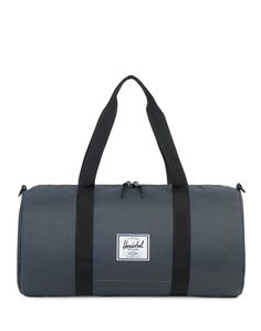 Herschel Sutton Mid-Volume Duffle Bag Grey ON SALE NOW | Shop all sale at The Idle Man | #StyleMadeEasy