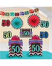 50th Birthday Decorations   Wholesale Decorations for Birthday Parties
