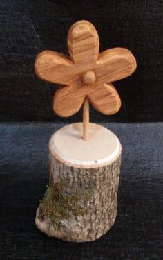 Holz Dekor Blume