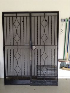 Wrought Iron Double Security Doors In VIC | EBay