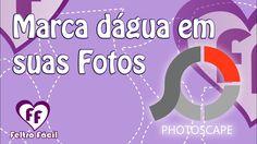Aprenda a colocar marca d'água em suas fotos com o Photoscape