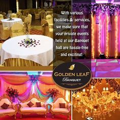 """With various facilities & services, we make sure that private events are held at our banquet hall are hassle-free & exciting! #GoldenLeafBanquet #malad #banquet #events #marriage #weddings #venue #birthdays #engagement #cocktails #food #foodie #foodporn #catering #planner #visitus #callus"" by @goldenleafbanquet. #이벤트 #show #parties #entertainment #catering #travelling #traveler #tourism #travelingram #igtravel #europe #traveller #travelblog #tourist #travelblogger #traveltheworld #roadtrip…"