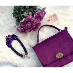 #miss_s_design #handmade #purple #apparels #bag #Foxbag #necklace @yowanna_delfin.unique #madeinbih #bhproduct #fashion #style #details #dailystyle #look #outfit #trend #flatlay #wearitloveit #ootd #lotd #potd #wearityourway ✌
