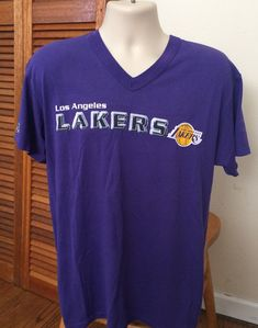 Adidas Los Angeles Lakers LA Tee NBA T-shirt Basketballshirt gelb Herren