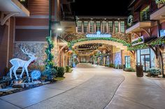 Winterfest on Market Street - The Island in Pigeon Forge