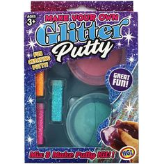 Make Your Own Glitter Putty | Activity Toys at The Works
