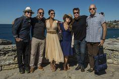 Elenco de Totalmente Demais em Bondi Beach, Sydney, Austrália - Crédito Globo/Renato Rocha Miranda http://gshow.globo.com/