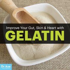 Gelatin - Dr. Axe http://www.draxe.com #health #Holistic #natural