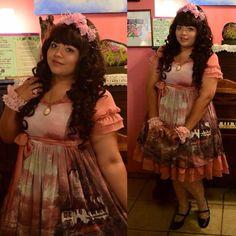 Beautiful Plus Sized Lolitas, moemiazrael:   #lstoday #lolita #lolitafashion...