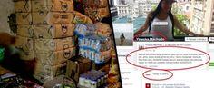 """EN FB: EMPLEADA DE MAKRO REVENDE """"ARROZ, HARINA, LECHE, CHAMPÚ, SÓLO POR BULTOS"""" (+FOTO-DENUNCIA)"""