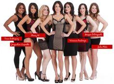 The real women of Skinnygirl #shapewear #fashion show