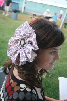 DIY Fabric Flowers : DIY Fabric Flowers