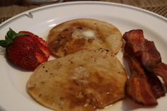 """Buttermilk"" amaranth pancakes - try using coconut milk yoghurt if you can't tolerate goat or sheep milk"