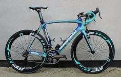 Vacansoleil-DCM veteran's Campagnolo Super Record EPS-equipped Bianchi Oltre XR