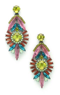 Buy the Momo Earring by Elizabeth Cole Jewelry at CoutureCandy.com, the largest selection of Elizabeth Cole Jewelry earrings available online.