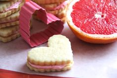 red grapefruit sandwich cookies ruby red grapefruit sandwich cookies ...
