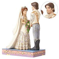 Pre-order now! Disney Princess wedding figures by Jim Shore