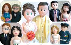 Handmade Personalised Wedding Cake Topper by DesignsByDenisa
