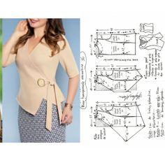 Blouses For Women, Sewing Patterns, Knitting, Lady, Womens Fashion, Tulum, Fashion Design, Virginia, Model