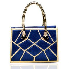 Fashion Weaving and Color Matching Design Tote Bag For Women