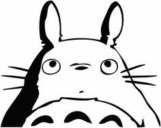 My Neighbor Totoro -- Studio Ghibli Anime Decal Sticker for Car/Truck/Laptop