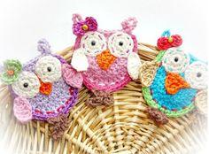 Crochet Owl Pattern oo1 via Craftsy