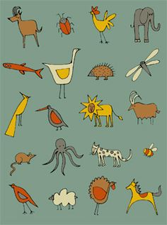 I love every emma brownjohn's illustrations...