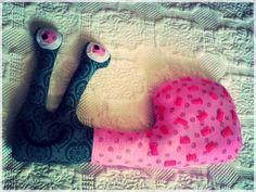 diy snail toy/cushion