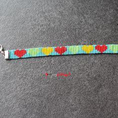 Herzschlüssel: Webarmbänder, #DIY